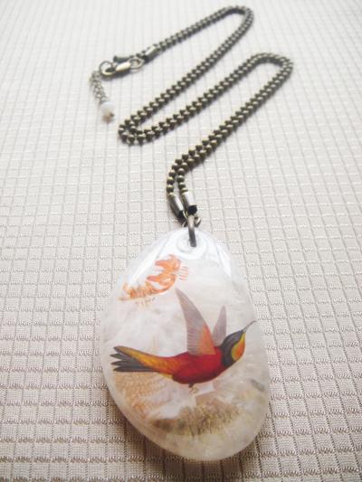 Colibri Rojo Cuarzo A