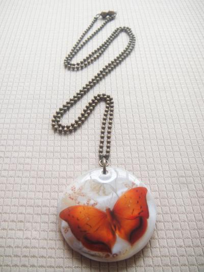 Mariposa Naranja Marmolina A
